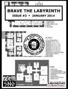 BTL003: Brave the Labyrinth - Issue #3 (PRINT)