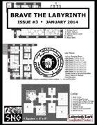 BTL003: Brave the Labyrinth - Issue #3 (PRINT)