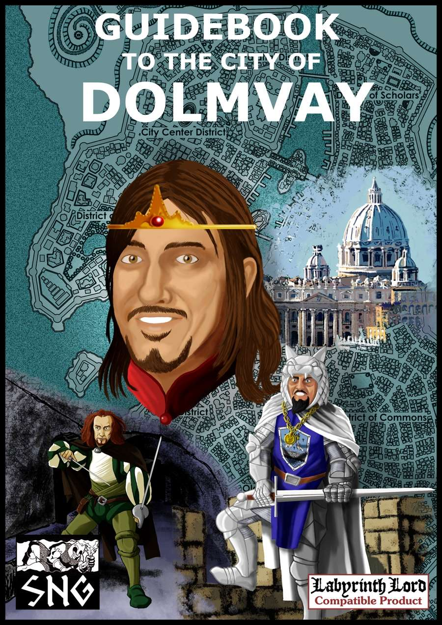 Guidebook to the City of Dolmvay (PDF)