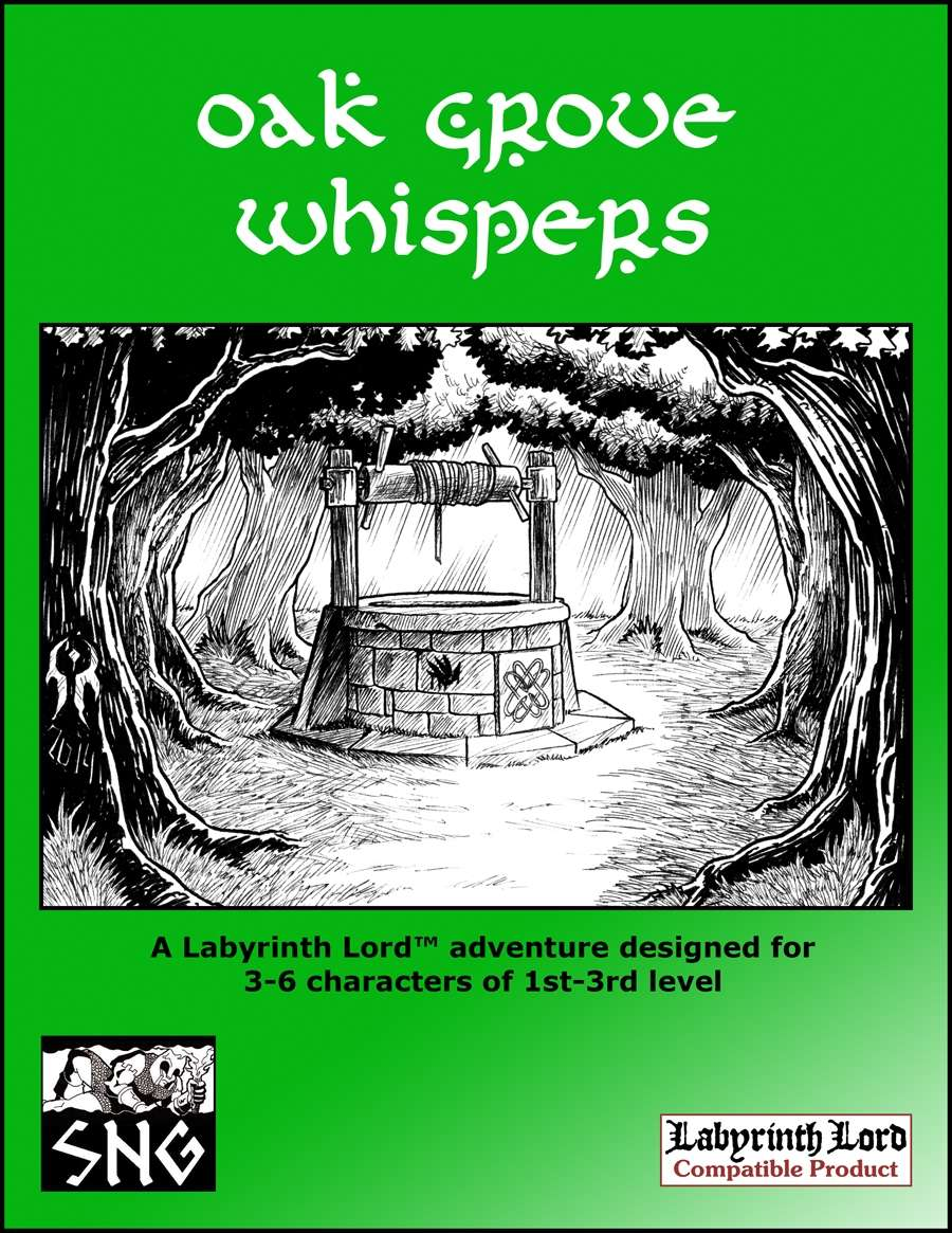 Cover of LLA007 Oak Grove Whispers