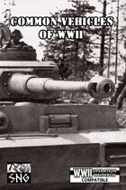 OWB008: Common Vehicles of WWII