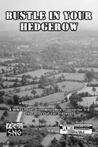 OWB014: Bustle in Your Hedgerow