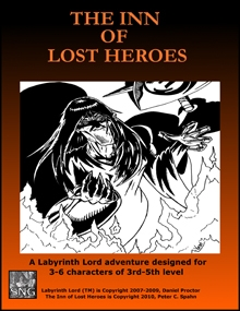LLA002: The Inn of Lost Heroes - Small Niche Games | Labyrinth ...