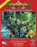 GameMaster's Campaign Recordbook