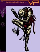 Character Gallery III: Horror 1