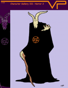 Character Gallery III: Horror 2