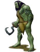 Stock Art: Half-Orc/Half-Ogre