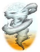 Stock Art: Air Elemental
