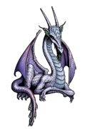 Stock Art: Young Dragon