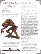 Fehr's Ethnology: Hhundi [PFRPG]