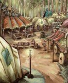 Stock Landscapes: Halfling Camp