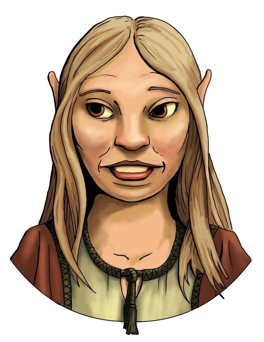Female Gnome: Stock Portraits: Young Female Gnome