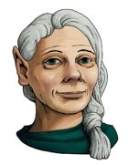 Stock Portraits: Mature Female Halfling