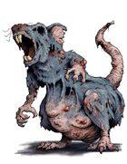 Stock Art: Zombie Rat