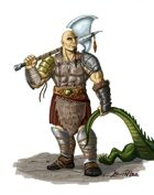 Stock Art: Half-Ogre Dragonslayer