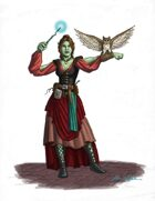 Stock Art: Half-Orc Witch