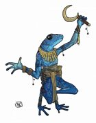 Stock Art: Frogman Cleric
