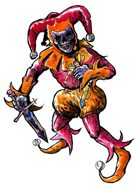 Stock Art: Undead Jester