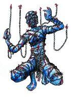 Stock Art: Chain Devil