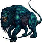 Stock Art: Alien Lion