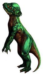 Stock Art: Bonehead Dinosaur