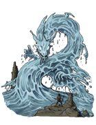 Stock Art: Water Dragon