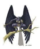 Stock Art: Dark Harpy