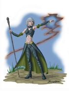 Stock Art: Elf Sorcerer