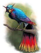 Stock Art: Rainbow Phoenix