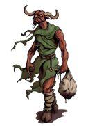 Stock Art: Demon Bagman