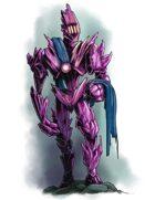 Stock Art: Purple Golem