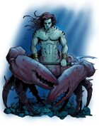Stock Art: Scorpionman