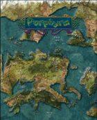 Lands of Porphyra Map