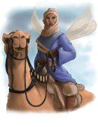 Stock Art: Camel Rider