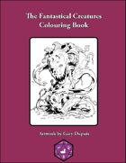 The Fantastical Creatures Colouring Book