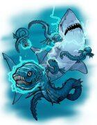 Stock Art: Electric Eels