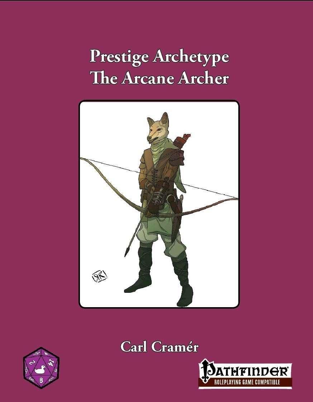Prestige Archetype: The Arcane Archer - Purple Duck Games | Built From  PFRPG OGC | DriveThruRPG com