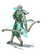 Stock Art: Elven Mystic Archer