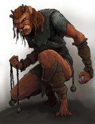 Stock Art: Male Catfolk Ranger