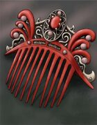 Stock Art: Fancy Comb