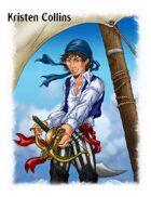 Stock Art: Male Human Corsair