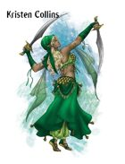 Stock Art: Female Elven Battledancer