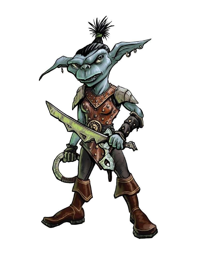 The Blue Goblin