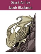 Stock Art: Underground Dragon