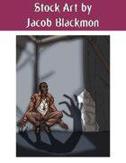Stock Art: Shadow Monster