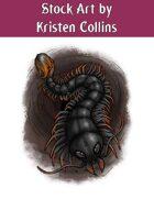 Stock Art: Giant Centipede