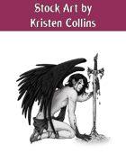 Stock Art: Fallen Angel