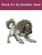 Stock Art: Monstrous Hound