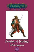 Samurai of Porphyra