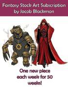 Fantasy Stock Art Bundle by Jacob Blackmon
